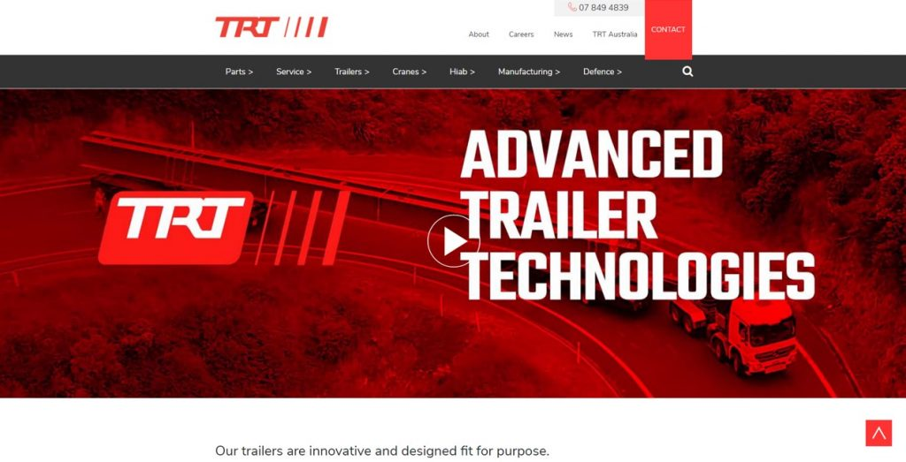 TRT use Red for innovation