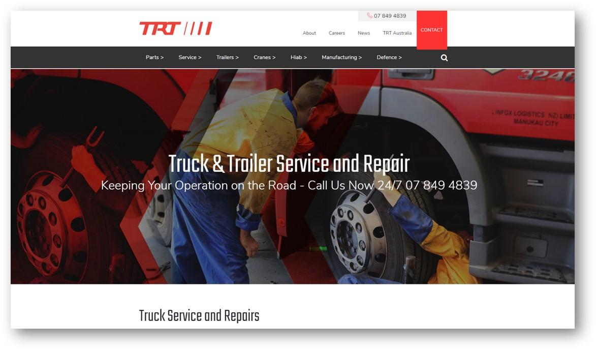 TRT Truck service
