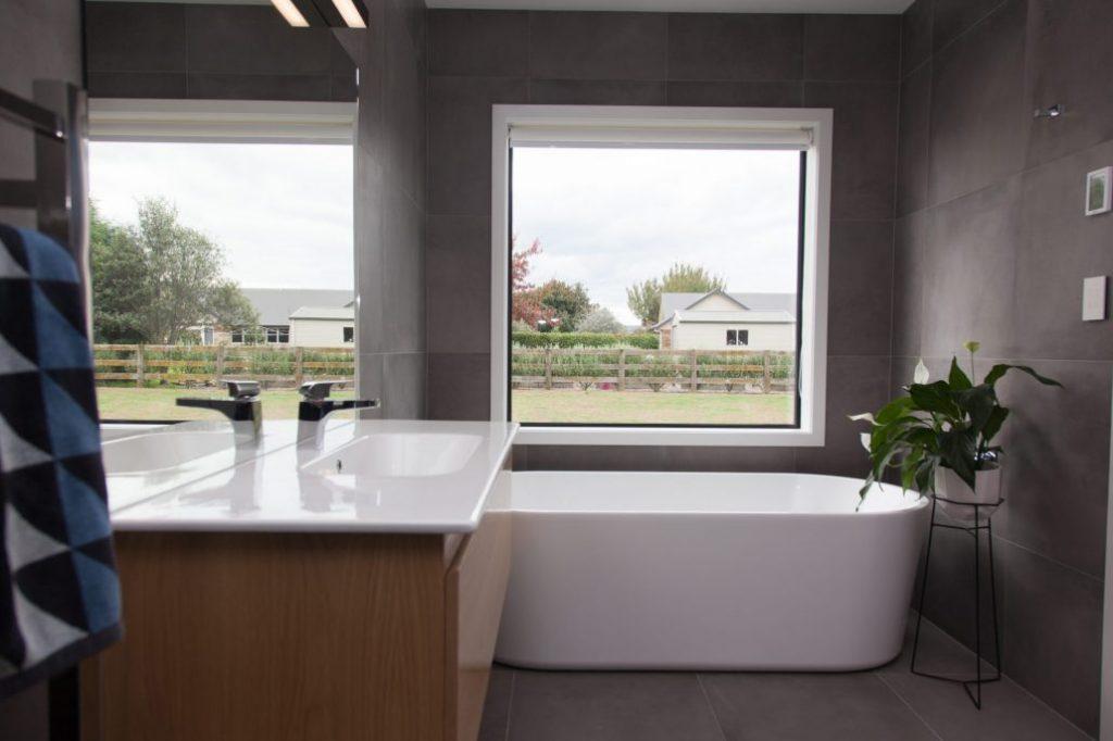 Bathroom in nature