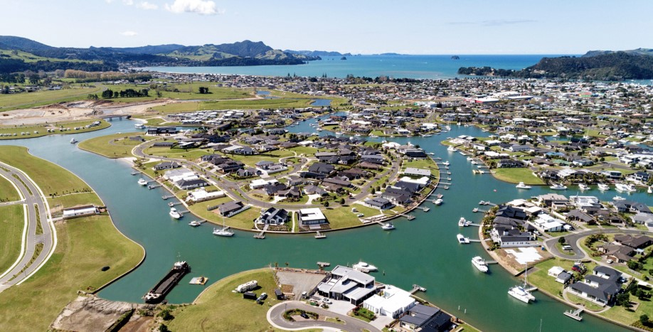 New subdivisions like Whitianga Waterways means new house builds for Whitianga builders