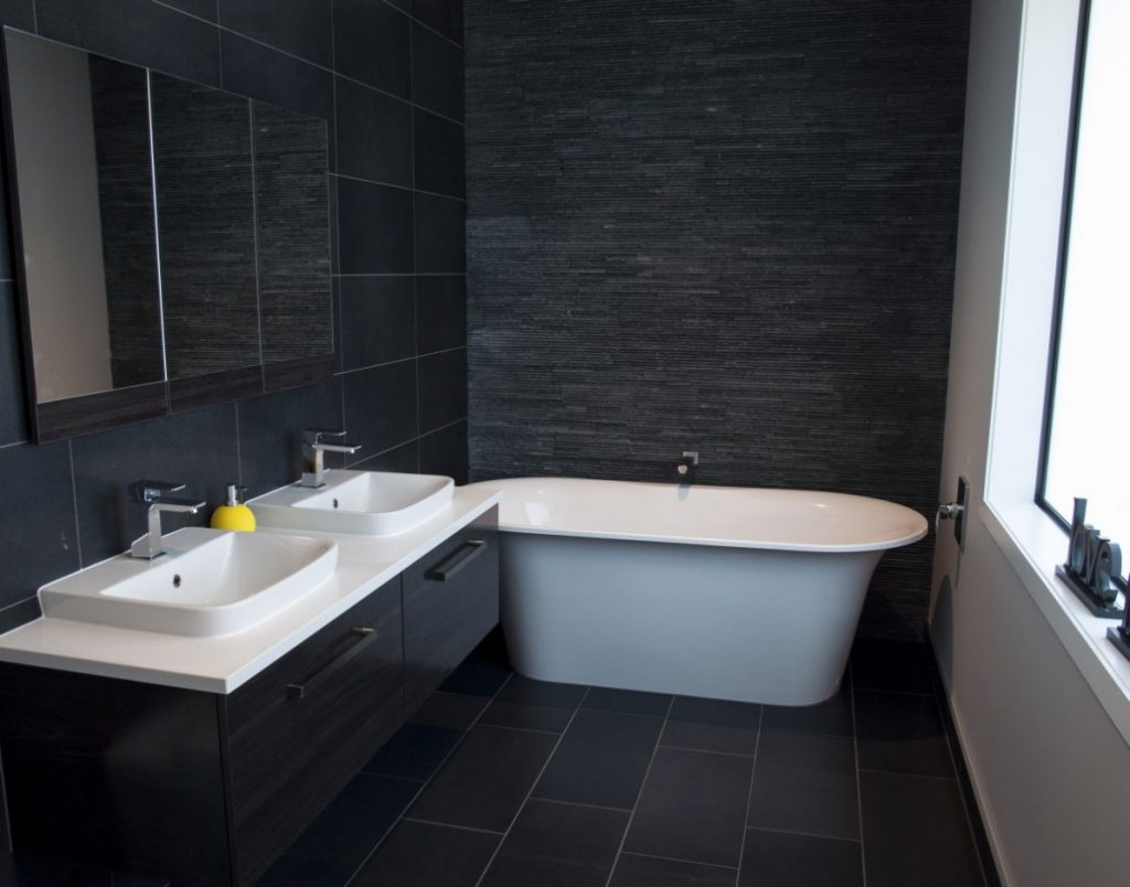 Fusion bathroom