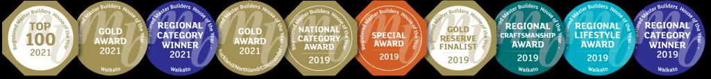 Master Builder Awards for Hamilton builder